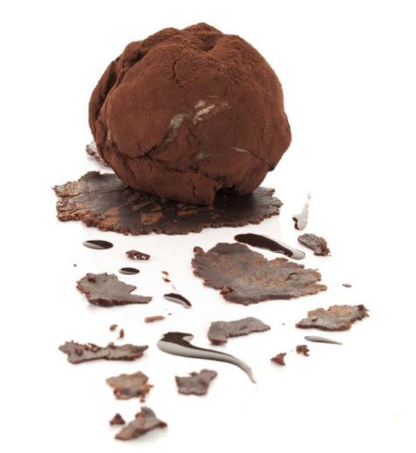 Trufón de Chocolate y Algarroba