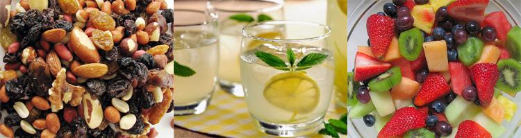 aperitivos sanos para el verano