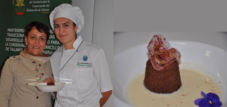 Marlene Amaro de la Cruz, 3er Premio Concurso Repostería con Harina de Algarroba