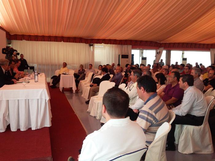 Asistentes a la II Jornada celebrada en Mallorca 2014