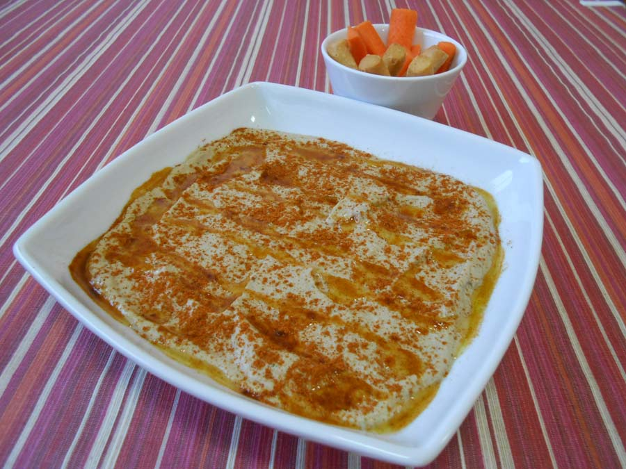 Paté de Berenjena o Baba Ghanush