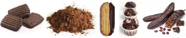 Algarrobas, Harina de Algarroba y productos elaborados con algarroba