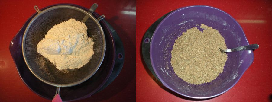 mantecado vegano de algarroba